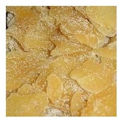 Zenzero disidratato con zucchero da 500 gr.