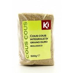 Cous cous integrale Ki Bio confezioni da 500 grammi