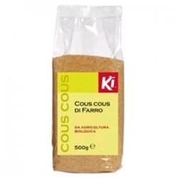Cous cous di Farro Ki Bio confezioni da 500 grammi