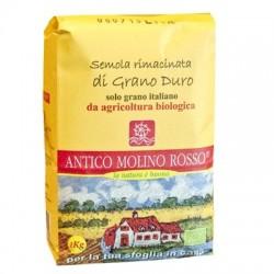 Semola rimacinata di grano duro  bio conf.da 1kg