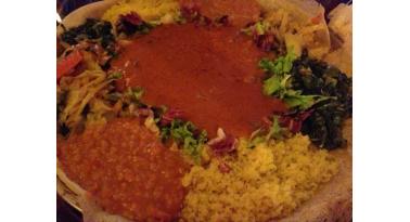 Ricetta tipicia della cucina africana cucinata con il Berberè